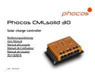 Phocos CMLsolid 30 - Phocos.com