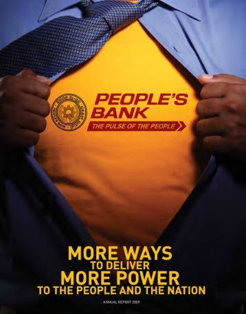 People's Bank Annual Report 2009 - Peoples Bank