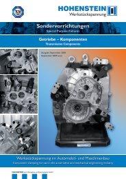 Katalog Getriebekomponenten 4.1 MB - Hohenstein-GmbH