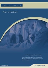 Future of Healthcare - Growth Consulting - Frost & Sullivan