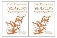 Pommes 2,50 - Seasons Restaurant