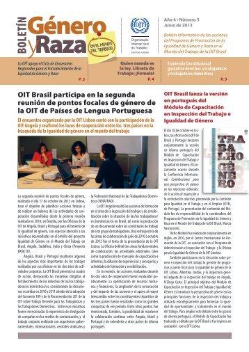 OIT Brasil participa en la segunda reunión de pontos focales de ...