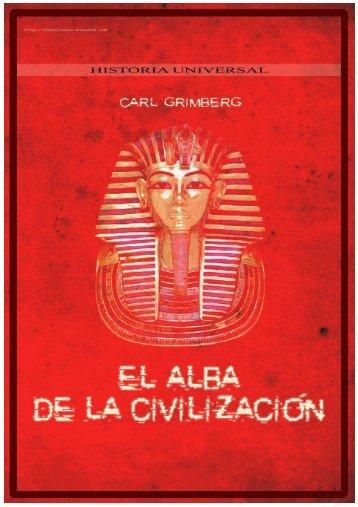 Grimberg, Carl - El alba de la civilizacion - bibliotecas morelos