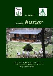 Ausgabe: Oktober 2012 - Harzklub Wolfshagen