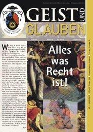 GEIST und GLAUBEN, Oktober 2006 - Montanuniversität Leoben