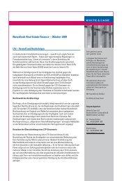 Newsflash Real Estate Finance - Oktober 2009 (dt.) - White & Case