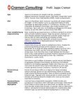 Cramon Consulting profil for Jeppe Cramon - Page 3