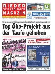 Haid 43 Tel.: 07712/4646 · Fax - Rieder Schärdinger Magazin
