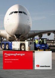 Case Study Flugzeughangar Lufthansa - Rosenbauer International AG
