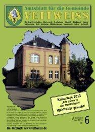 Juni 2013 - Gemeinde Vettweiß