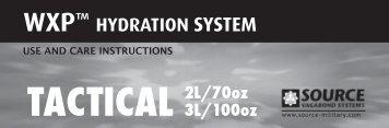 hydration system - SpecOps