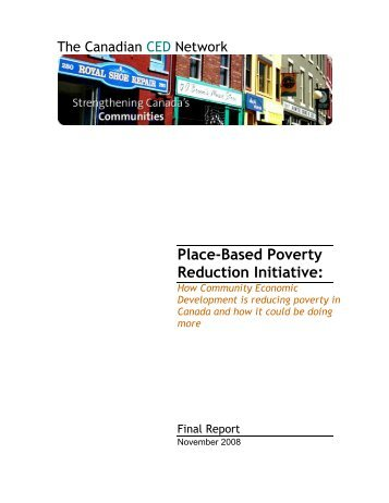 Place-Based Poverty Reduction Initiative: How Community - Paro