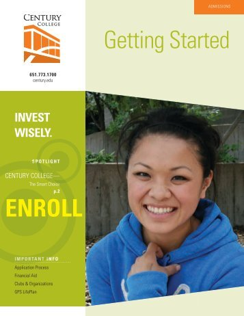 Getting Started ENROLL - Century College
