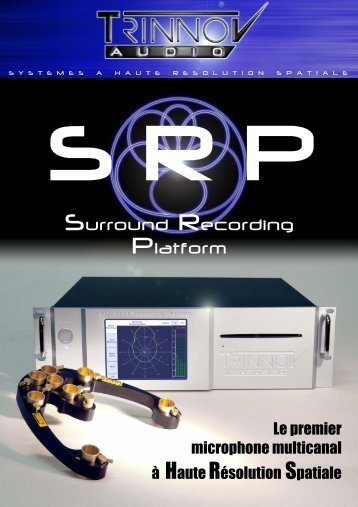 Surround Recording Platform - Trinnov Audio