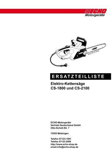 ERSATZTEILLISTE - Eduard Ruf GmbH