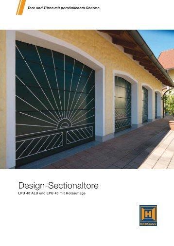Design-Sectionaltore - Hörmann