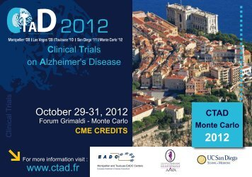 scientific posters - CTAD