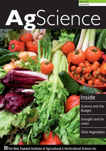 Issue 44 Mar 2013 - New Zealand Institute of Agricultural ...