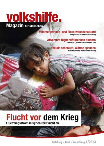 Flucht vor dem Krieg - Volkshilfe Österreich