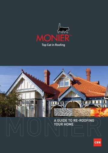 Monier_A Guide To Re-Roofing Your Home.pdf - Sandcastles