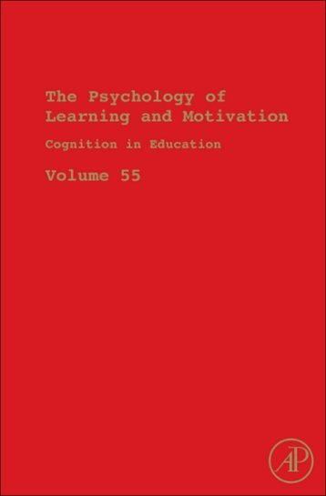 the psychology of learning and motivation - Percepts and Concepts ...