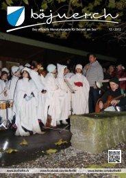 Das offizielle Monatsmagazin für Beinwil am See 10 ... - dorfheftli