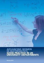 good practice in uk university departments - Blitz