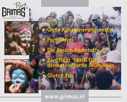 Prod info Grimas Pure.qxd