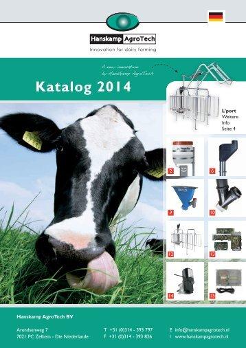 Katalog 2014 - Hanskamp Agrotech