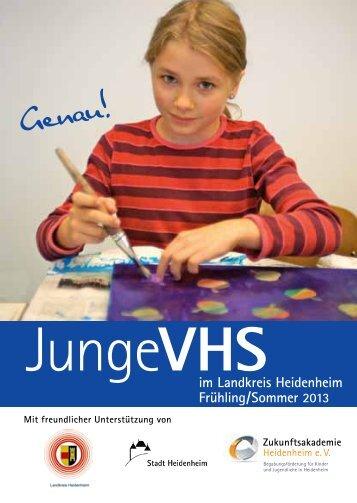 JungeVHS - Gerstetten VHS - Gerstetten.de