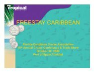 FREESTAY CARIBBEAN - The Florida-Caribbean Cruise Association