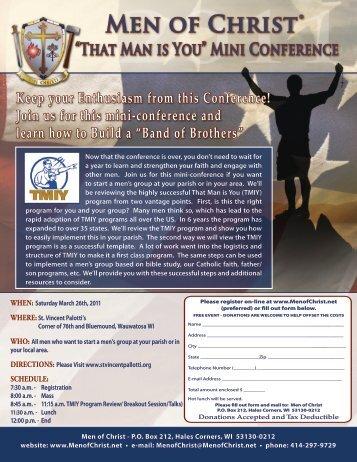 PDF Format - Men of Christ