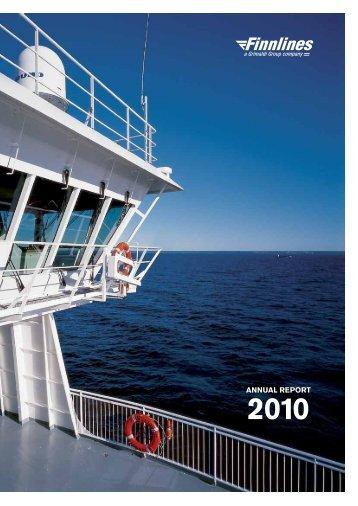 Annual report 2010 - Finnlines