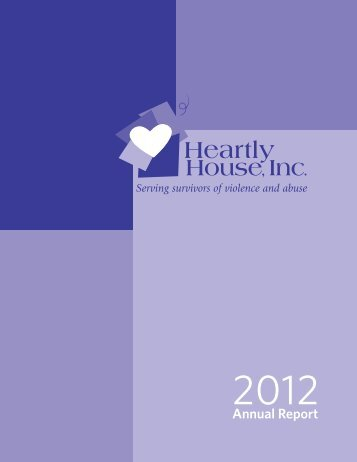 2012 Annual Report - Heartly House, Inc.