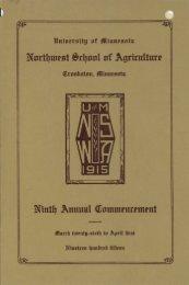 1915 Commencement - University of Minnesota