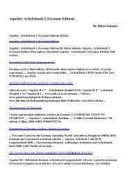 Download Aspekte: Arbeitsbuch 2 (German Edition) pdf ebooks by ...