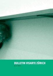 Bulletin 2013/05 - visarte zürich