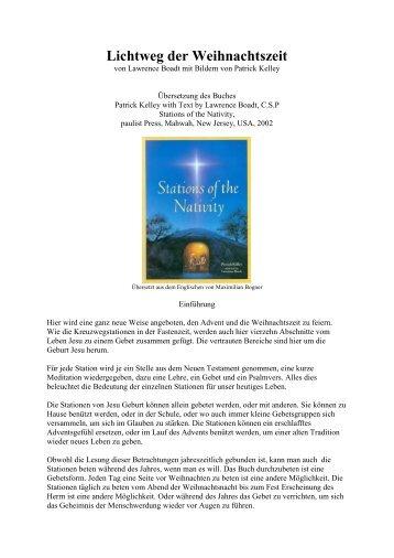 Stationen der Geburt Jesu - Himmelsboten-Engel Gottes