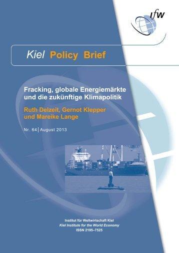 Kiel Policy Brief 64