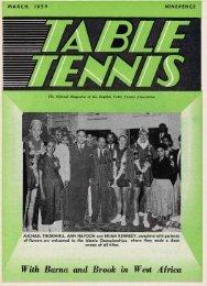 6. Mar 1959 - The English Table Tennis Association