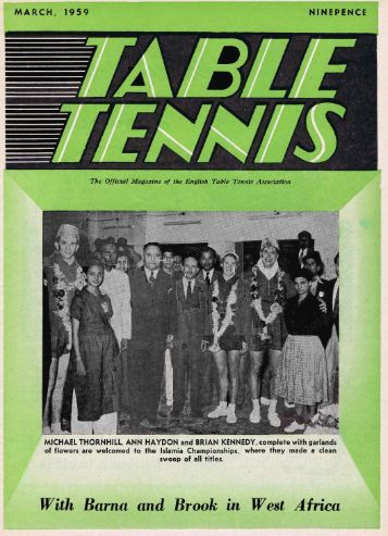 6. Mar 1959 - The English Table Tennis Association