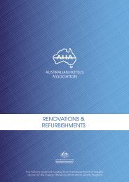 7 Renovations - Australian Hotels Association