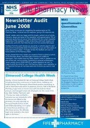 Fife Pharmacy News - Community Pharmacy