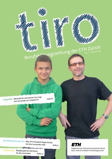 Lernendenzeitung - ETH Zürich