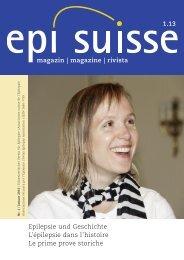magazin | magazine | rivista Epilepsie und Geschichte L'épilepsie ...