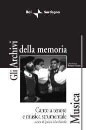CANTO A TENORE E MUSICA - Sardegna DigitalLibrary