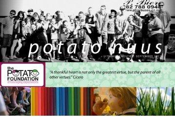 September 2012 Nuusbrief - The Potato Foundation