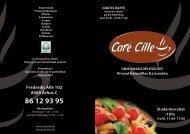 Frederiks Allé 102 8000 Århus C 86 12 93 95 - Café Cille