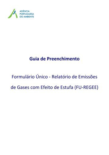 Guia de Preenchimento | FU-REGEE - Agência Portuguesa do ...