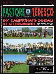 56° CAMPIONATO SOCIALE - SAS Italia